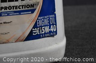 Engine Oil 15/40 - full