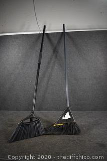 2 Brooms @ 54in long