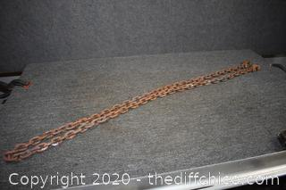 100in long Tow Chain