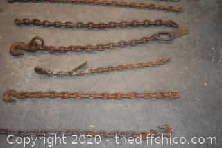 Bits and Pieces of Tow Chains