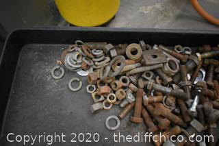 Large Nut and Bolts