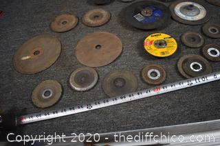 Lot of Grinding Wheels