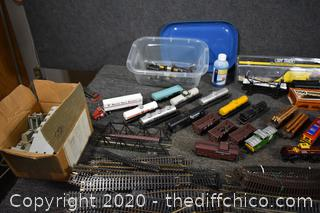 Train Track, Cars, Controllers and More