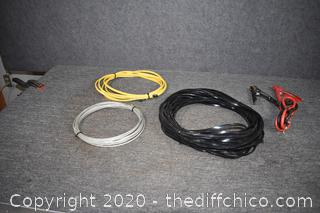 Mixed Lot of Wire and Cable