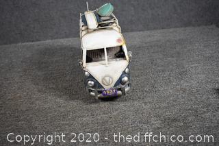 Metal Volkswagen Bus