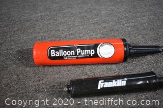 Balloon, Football and More Pumps