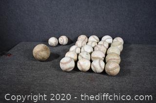 23 Baseballs