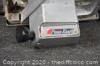 Working PowerKraft Saw