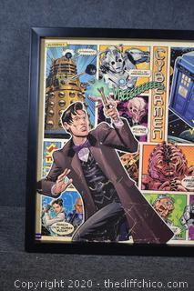 Framed Dr. Who Poster
