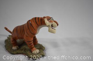 NIB Walt Disney Collection Jungle Book Everyone Runs from Shere Khan