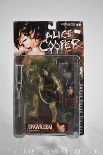 NIB Alice Cooper Figure