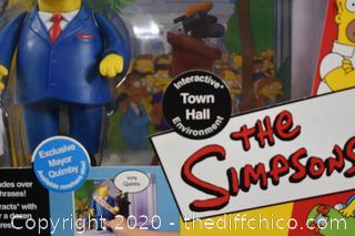 NIB The Simpsons Mayor Quimby
