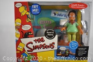 NIB The Simpsons Bowl a Rama - Pin Pal Apu