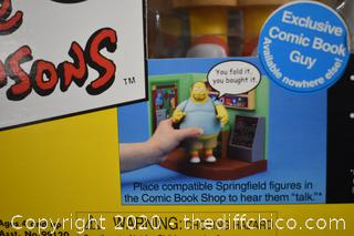 NIB The Simpsons Comic Book Guy