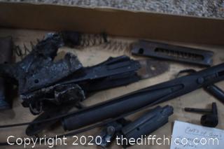 Gun Parts from Fire