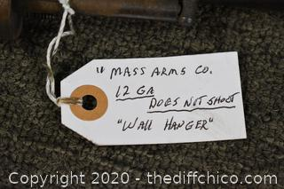 Mass Arms Co. 12Ga-does not shoot