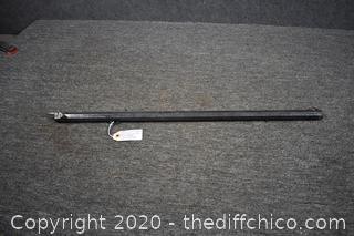 26 1/4 Gun Barrel-does not shoot