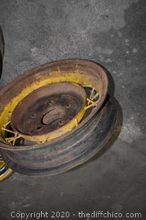 3 Tire Rims