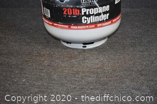 Propane Tank and Stand