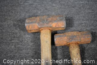 2 Sledge Hammers