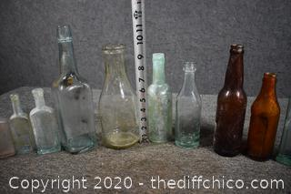 14 Collectible Bottles