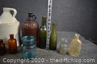18 Collectible Bottles