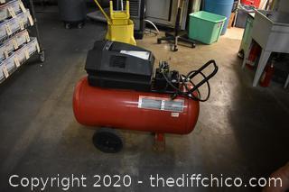 Working Craftsman 6HP 33 Gal Compressor