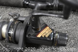 69in long Shimano Fishing Rod and Reel