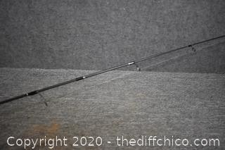 72 1/2in long Super Stix w/Shimano Reel