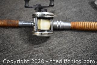 80in long Rod w/Garcia Reel