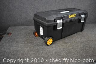 Rolling Dewalt Tool Box