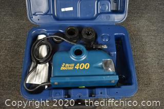 Drill Doctor Drill Bit Sharpener w/case-powers up