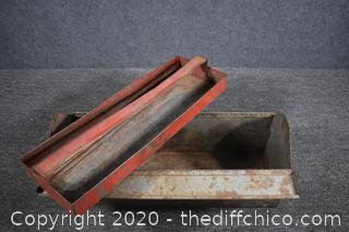 Empty Metal Tool Box