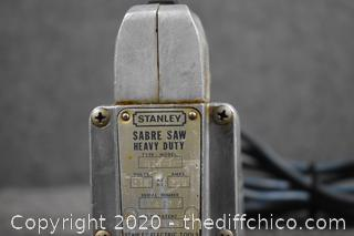 Working Stanley Sabre Saw