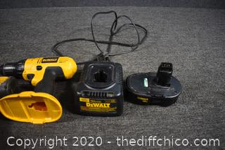 Working Dewalt Drill, Impact Driver, battery plus charger
