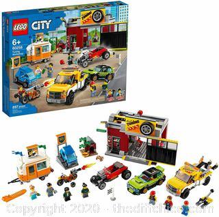 ($99.99) LEGO City Tuning Workshop Set 60258 897 Pieces (NEW W/ BOX DAMAGE)