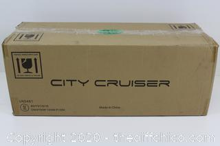 City Cruiser ES03 Hoverboard Dual Motors Electric Self Balancing Scooter with Built-in Speaker and LED Lights