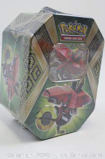 NEW SEALED Pokemon Collector's Tin Set Tapu Bulu GX Trading Card Game booster Koko