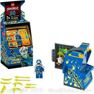 LEGO NINJAGO Jay Avatar - Arcade Pod 71715 Mini Arcade Machine (47 Pieces) NEW!!