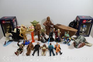 STAR WARS COLLECTABLE FIGURE LOT #1
