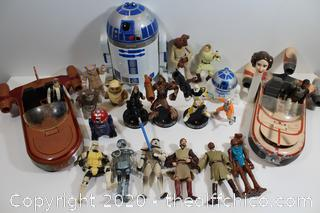 STAR WARS COLLECTABLE FIGURE LOT #2