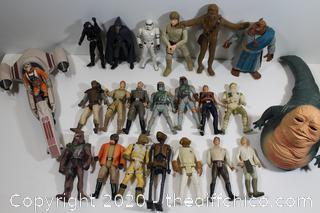 STAR WARS COLLECTABLE FIGURE LOT #8