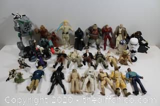 STAR WARS COLLECTABLE FIGURE LOT #3