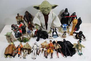 STAR WARS COLLECTABLE FIGURE LOT #4