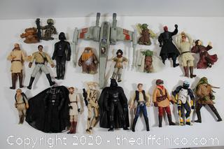 STAR WARS COLLECTABLE FIGURE LOT #6