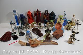 STAR WARS COLLECTABLE FIGURE LOT #7