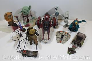 STAR WARS COLLECTABLE FIGURE LOT #9