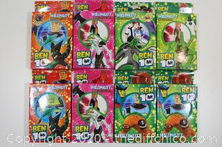 LOT OF 8 BEN 10 CARD PACKS