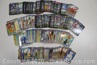 BOX OF 1999 DIGIMON CARDS
