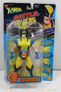 X-MEN WOLVERINE BATTLE TALKERS - TOY BIZ